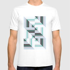 Maze | 60s Mens Fitted Tee White SMALL