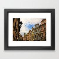 Praha Framed Art Print