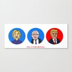 Election Canvas Print
