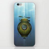 Steampunk Submarine iPhone & iPod Skin