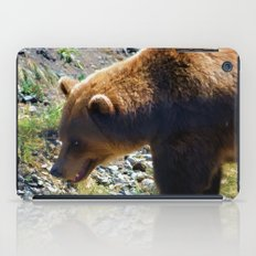 Griz - Wildlife Art Print iPad Case