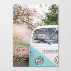 Vintage Volkswagen Van Canvas Print