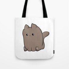 Cube Cat Tote Bag