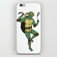 Michelangelo iPhone & iPod Skin