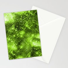 Dazzling Series (Green) Stationery Cards