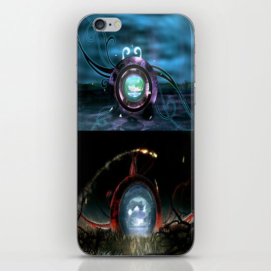 Beginning VS the End iPhone & iPod Skin