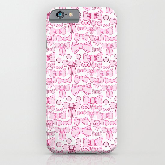 bows pink iPhone & iPod Case