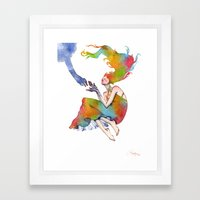 Accepting Framed Art Print