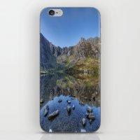 Idwal Sunrise iPhone & iPod Skin