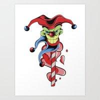 joker Art Prints featuring Joker by Creative   (with team MAF)