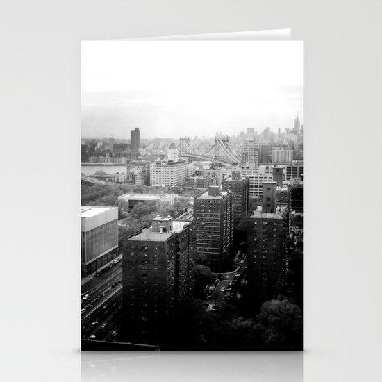 Brooklyn Black and White Stationery Card