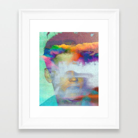 Untitled 20120127c (Corey) Framed Art Print