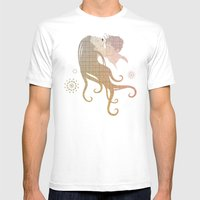 Blinded by selfishness Mens Fitted Tee White SMALL