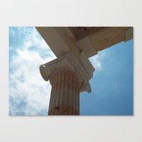Acropolis, Athens Canvas Print
