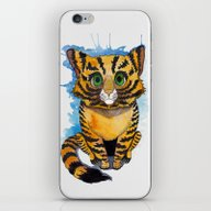 iPhone & iPod Skin featuring Kitten by SilviaGancheva