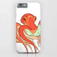 octopus iPhone & iPod Cases featuring Octopus by Jemma Salume