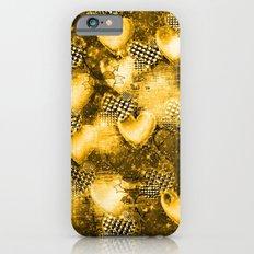 Light Bulb Hearts Series (Gold) iPhone 6 Slim Case