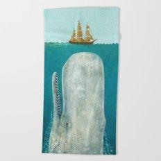 The Whale  Beach Towel