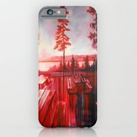 iPhone & iPod Case featuring Night After Night  by Leanna Rosengren