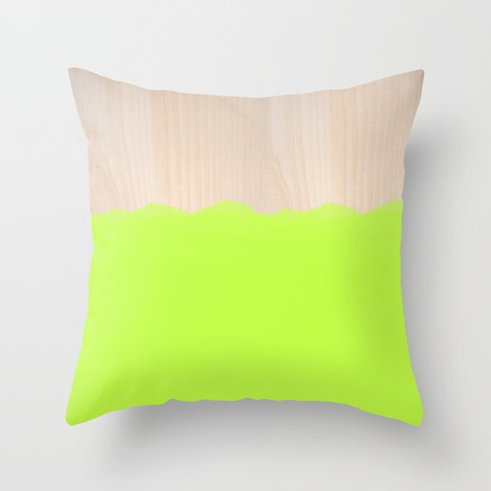 Sorbet II Throw Pillow