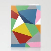 Abstraction Zoom Stationery Cards
