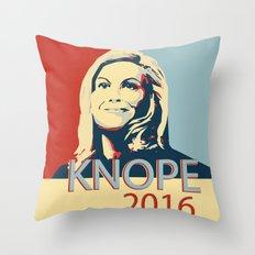 KNOPE 2016 Throw Pillow