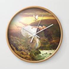 fall to grace Wall Clock