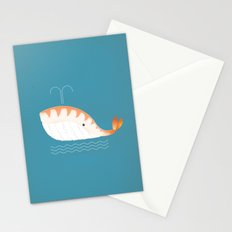 Legal Whale-Sushi Stationery Cards