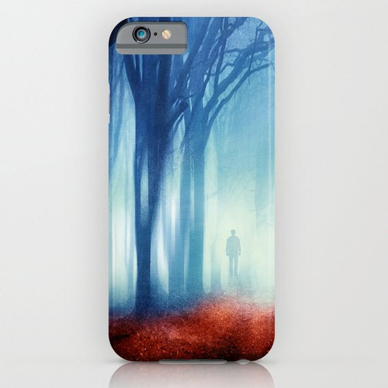 In The Mist she Was Standing iPhone & iPod Case