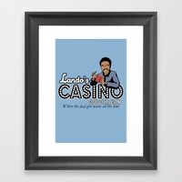 Lando's Casino Framed Art Print