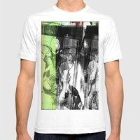 Stop Lookinf Mens Fitted Tee White SMALL
