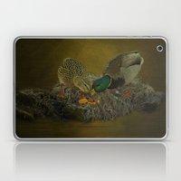 Mallards Having A Meal Laptop & iPad Skin