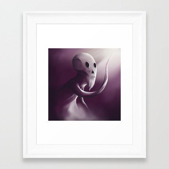 Follow the light Framed Art Print
