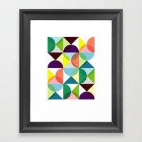 Geometry For Modern Hous… Framed Art Print