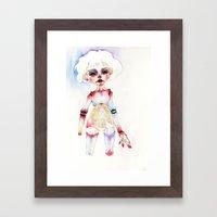 Ball-joined doll Framed Art Print