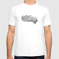 Cuttlefish Mens Fitted Tee White SMALL