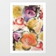 There Are Roses Without … Art Print