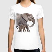 elephants T-shirts featuring Elephants by Goosi