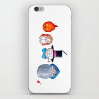 Make the Unlikeliest of Friends, Wherever You Go 3 iPhone & iPod Skin