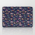 Cute vintage pattern with birds and flowers iPad Case