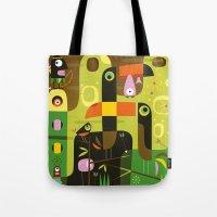 The toucan hunter Tote Bag