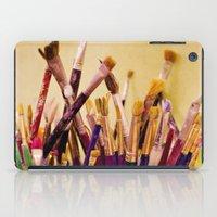 Paintbrushes iPad Case