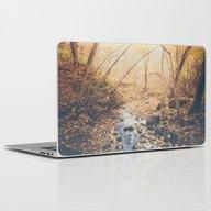 Blue Cola Mountain Laptop & iPad Skin