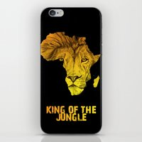 King Of The Jungle! iPhone & iPod Skin