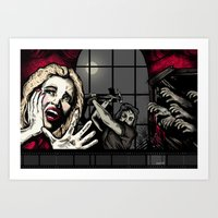 From The Window To The W… Art Print