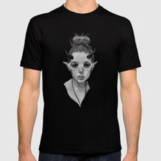Monster Girl #3a Mens Fitted Tee SMALL Black