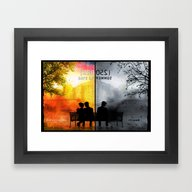 Framed Art Print featuring 250/250 Days Of Summer..… by Emiliano Morciano (A…