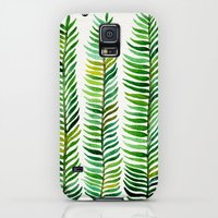 Galaxy S5 Cases featuring Seaweed by Cat Coquillette