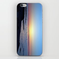 Sun Sets up the River, Across the Sea iPhone & iPod Skin