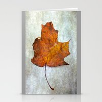 Autumn-Leaf Stationery Cards